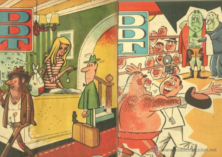 Tebeos: EL DDT EDI. BRUGUERA 1951 - LOTE 232 EJEMPLARES DIFERENTES, PRECIO DE NAVIDAD - SE VENDEN SUELTOS - Foto 4 - 122993572