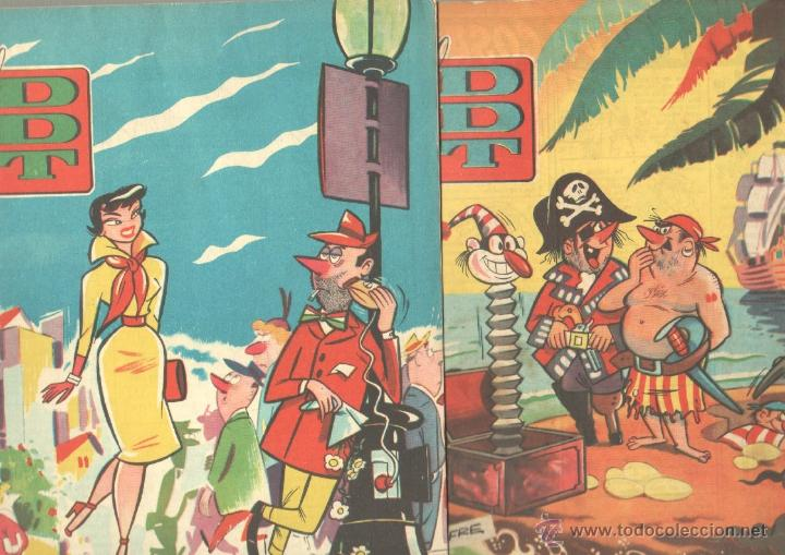 Tebeos: EL DDT EDI. BRUGUERA 1951 - LOTE 232 EJEMPLARES DIFERENTES, PRECIO DE NAVIDAD - SE VENDEN SUELTOS - Foto 8 - 122993572