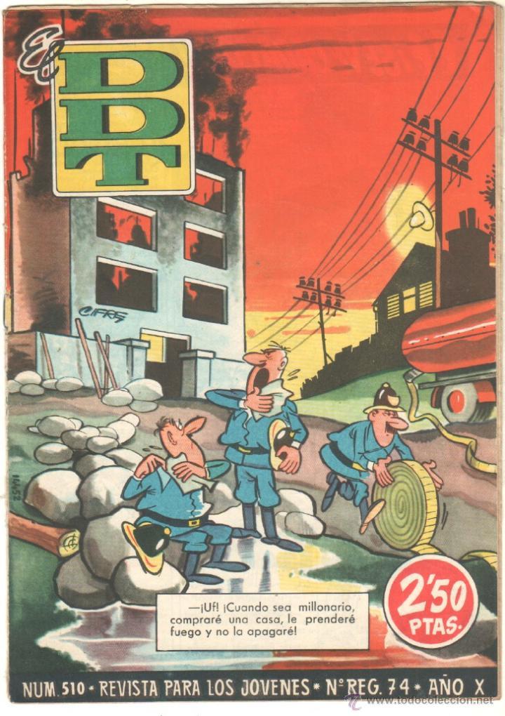 Tebeos: EL DDT EDI. BRUGUERA 1951 - LOTE 232 EJEMPLARES DIFERENTES, PRECIO DE NAVIDAD - SE VENDEN SUELTOS - Foto 9 - 122993572