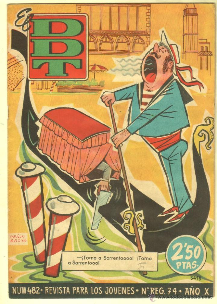 Tebeos: EL DDT EDI. BRUGUERA 1951 - LOTE 232 EJEMPLARES DIFERENTES, PRECIO DE NAVIDAD - SE VENDEN SUELTOS - Foto 12 - 122993572
