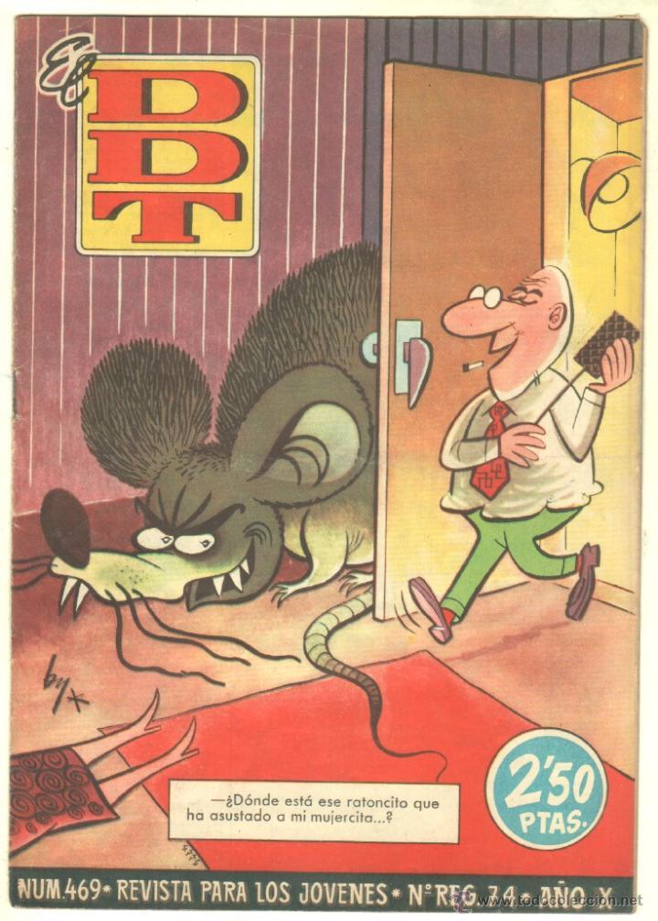 Tebeos: EL DDT EDI. BRUGUERA 1951 - LOTE 232 EJEMPLARES DIFERENTES, PRECIO DE NAVIDAD - SE VENDEN SUELTOS - Foto 13 - 122993572