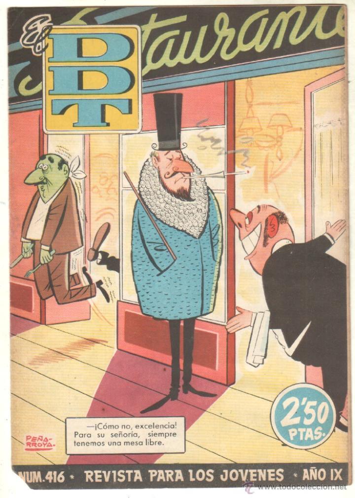 Tebeos: EL DDT EDI. BRUGUERA 1951 - LOTE 232 EJEMPLARES DIFERENTES, PRECIO DE NAVIDAD - SE VENDEN SUELTOS - Foto 14 - 122993572