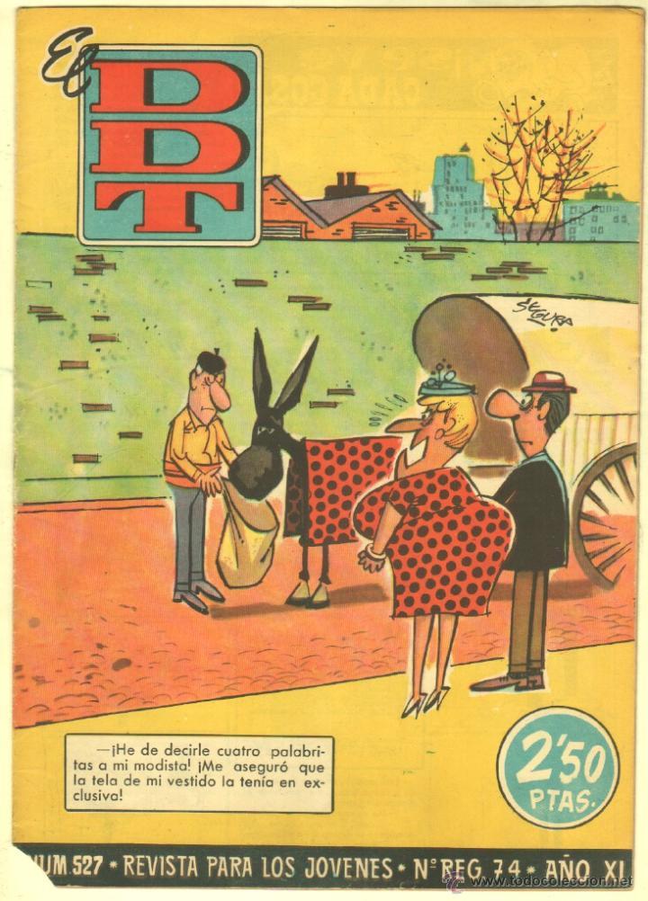 Tebeos: EL DDT EDI. BRUGUERA 1951 - LOTE 232 EJEMPLARES DIFERENTES, PRECIO DE NAVIDAD - SE VENDEN SUELTOS - Foto 17 - 122993572