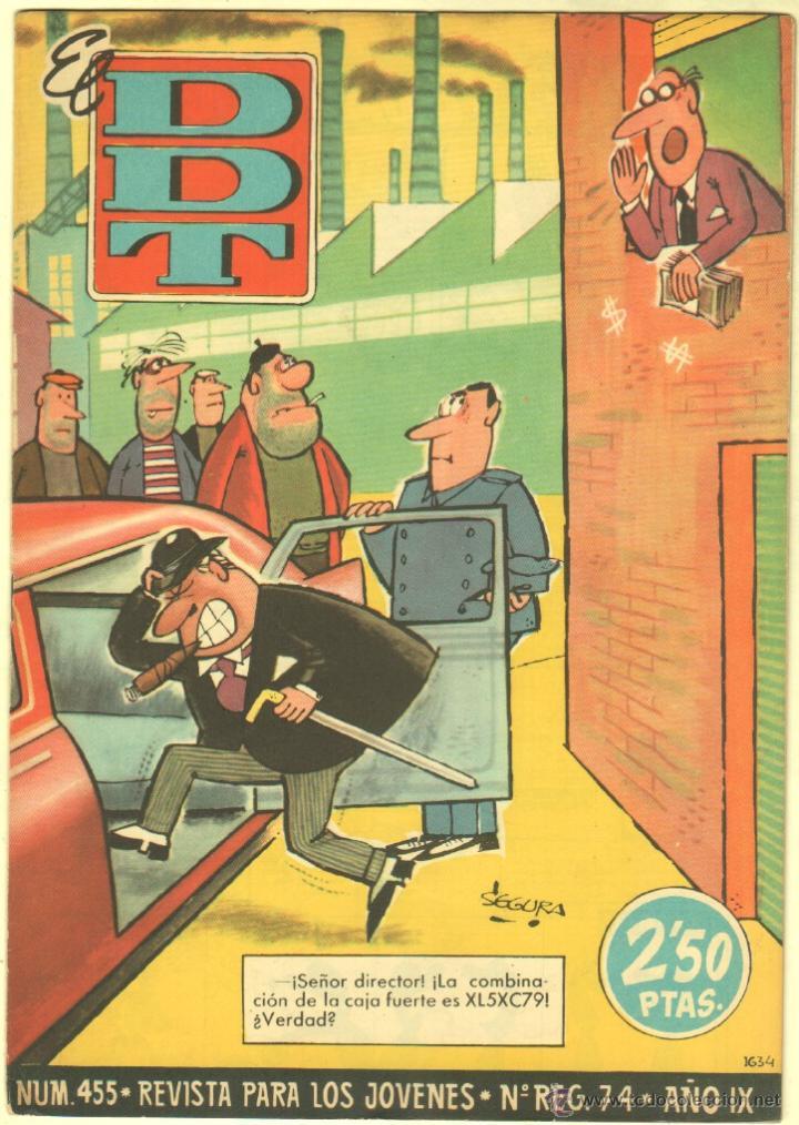 Tebeos: EL DDT EDI. BRUGUERA 1951 - LOTE 232 EJEMPLARES DIFERENTES, PRECIO DE NAVIDAD - SE VENDEN SUELTOS - Foto 19 - 122993572