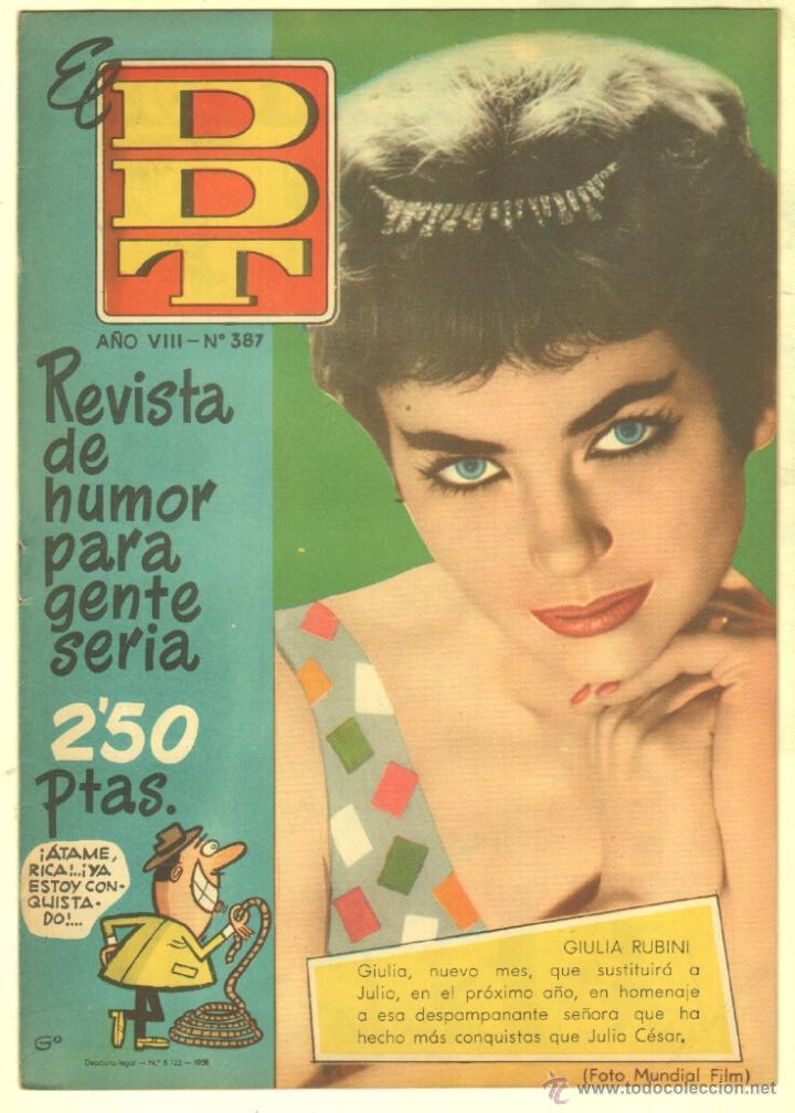 Tebeos: EL DDT EDI. BRUGUERA 1951 - LOTE 232 EJEMPLARES DIFERENTES, PRECIO DE NAVIDAD - SE VENDEN SUELTOS - Foto 22 - 122993572