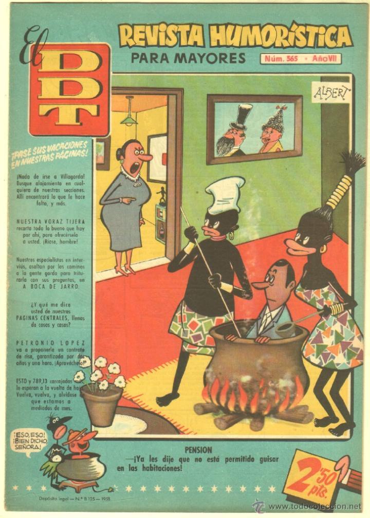 Tebeos: EL DDT EDI. BRUGUERA 1951 - LOTE 232 EJEMPLARES DIFERENTES, PRECIO DE NAVIDAD - SE VENDEN SUELTOS - Foto 24 - 122993572