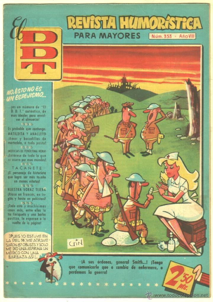 Tebeos: EL DDT EDI. BRUGUERA 1951 - LOTE 232 EJEMPLARES DIFERENTES, PRECIO DE NAVIDAD - SE VENDEN SUELTOS - Foto 26 - 122993572