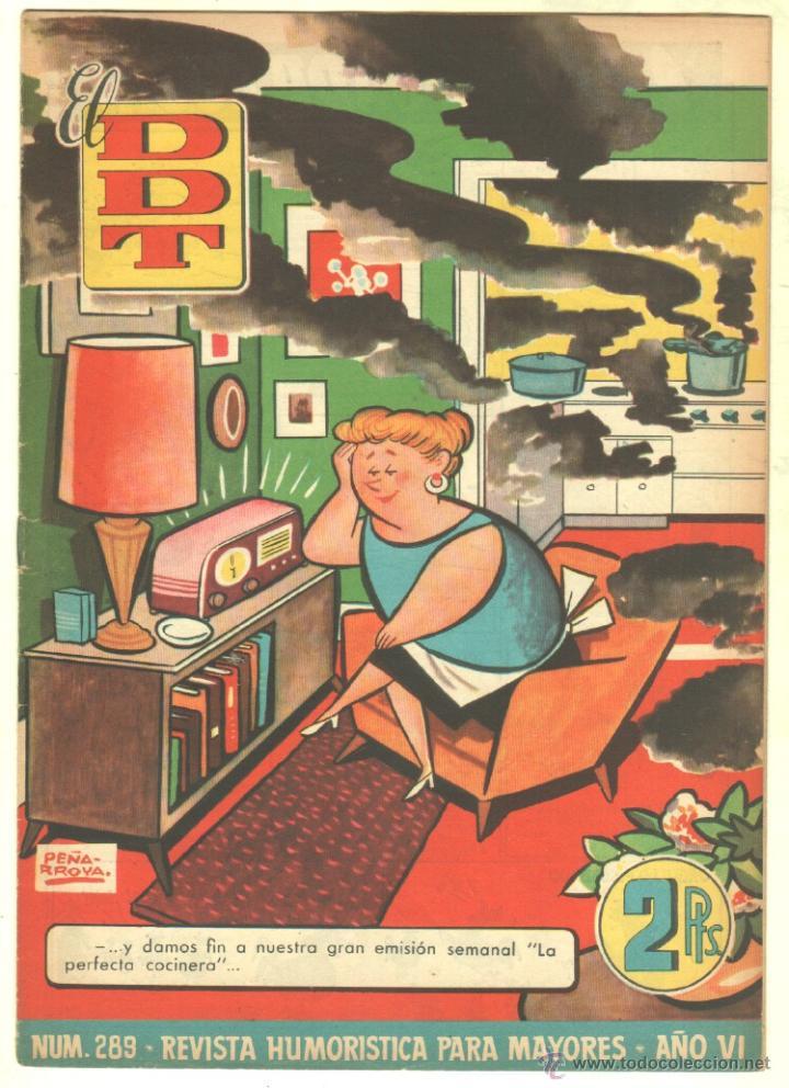 Tebeos: EL DDT EDI. BRUGUERA 1951 - LOTE 232 EJEMPLARES DIFERENTES, PRECIO DE NAVIDAD - SE VENDEN SUELTOS - Foto 28 - 122993572
