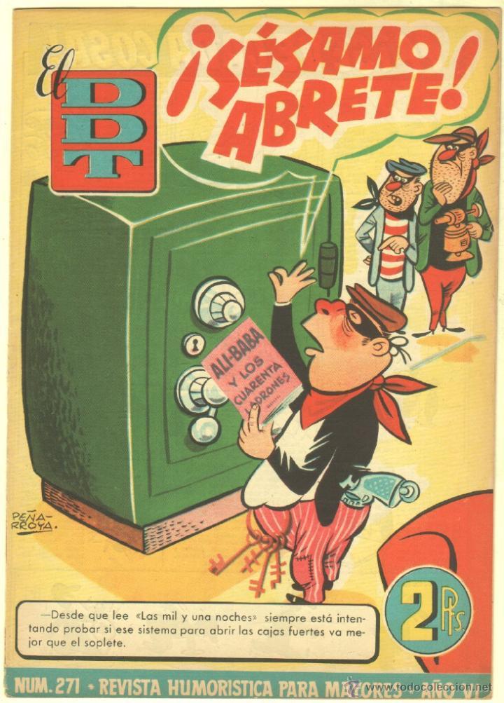Tebeos: EL DDT EDI. BRUGUERA 1951 - LOTE 232 EJEMPLARES DIFERENTES, PRECIO DE NAVIDAD - SE VENDEN SUELTOS - Foto 29 - 122993572