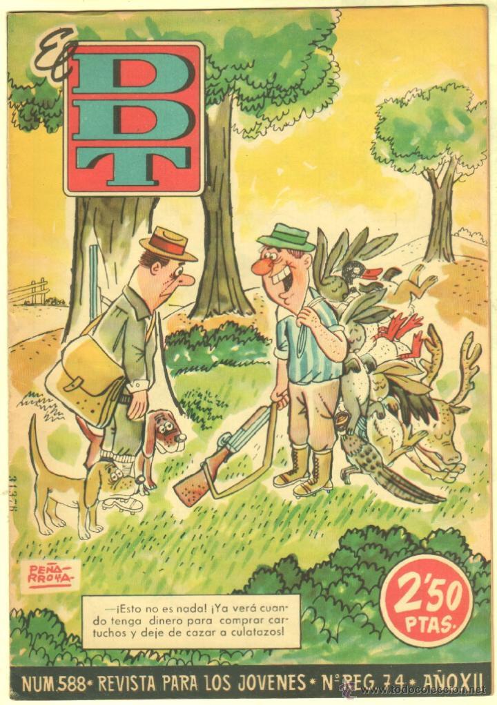 Tebeos: EL DDT EDI. BRUGUERA 1951 - LOTE 232 EJEMPLARES DIFERENTES, PRECIO DE NAVIDAD - SE VENDEN SUELTOS - Foto 30 - 122993572