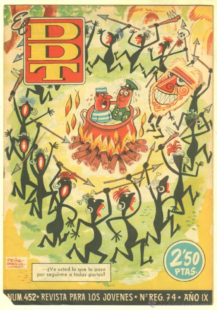 Tebeos: EL DDT EDI. BRUGUERA 1951 - LOTE 232 EJEMPLARES DIFERENTES, PRECIO DE NAVIDAD - SE VENDEN SUELTOS - Foto 31 - 122993572