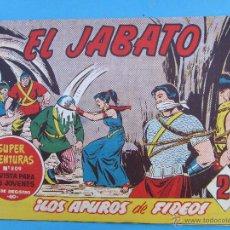 Tebeos: EL JABATO , NUMERO 275 , LOS APUROS DE FIDEO , MUY BIEN CONSERVADO. Lote 53437914