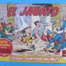 Tebeos: EL JABATO , NUMERO 274 , FIDEO CONTRAMING , MUY BIEN CONSERVADO . Lote 53452962