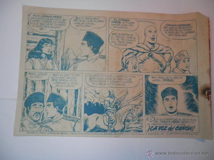 Tebeos: EL COSACO VERDE Nº 69 AMIGOS EN PELIGRO 1961 - Foto 2 - 53462278