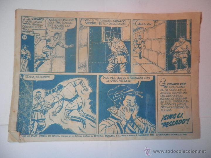 Tebeos: EL COSACO VERDE Nº 29 TRAGEDIA SUBMARINA 1960 - Foto 2 - 53462526