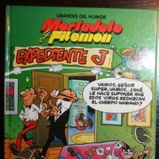 Tebeos: MORTADELO Y FILEMÓN - EXPEDIENTE J - FRANCISCO IBAÑEZ - ED. PRIMERA PLANA/EL PERIÓDICO - 1996. Lote 53504572