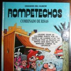 Tebeos: ROMPETECHOS - COMBINADO DE RISAS - F. IBAÑEZ - ED. PRIMERA PLANA/EL PERIÓDICO - 1996. Lote 53504588