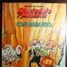 Tebeos: MORTADELO Y FILEMÓN - CONTRABANDO - F. IBAÑEZ - ED. PRIMERA PLANA/EL PERIÓDICO - 1996. Lote 53504596
