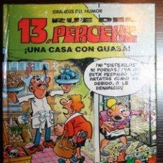 Tebeos: 13 RUE DEL PERCEBE - UNA CASA CON GUASA - F. IBAÑEZ - ED. PRIMERA PLANA/EL PERIÓDICO - 1996. Lote 53504599