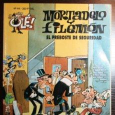 Tebeos: MORTADELO Y FILEMÓN - EL PREBOSTE DE SEGURIDAD - F. IBAÑEZ - ED. B - 1ª EDICIÓN 1993. Lote 53504612