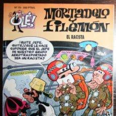 Tebeos: MORTADELO Y FILEMÓN - EL RACISTA - F. IBAÑEZ - ED. B - 1ª EDICIÓN 1994. Lote 53504627