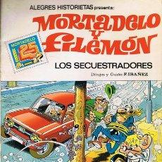 Tebeos: CÓMIC MORTADELO Y FILEMÓN ¨LOS SECUESTRADORES¨ 1ª EDICIÓN 1983. Lote 53545313