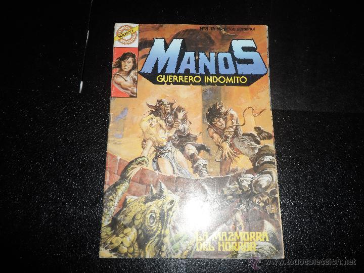 MANOS GUERRERO INDÓMITO Nº 8 ED. BRUGUERA 1984 (Tebeos y Comics - Bruguera - Otros)