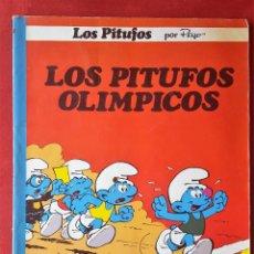Tebeos: LOS PITUFOS OLÍMPICOS 14 EDICIONES JUNIOR GRIJALBO EDITORIAL PRIMERA 1ª EDICIÓN COMO COLECCIÓN OLE. Lote 53579197