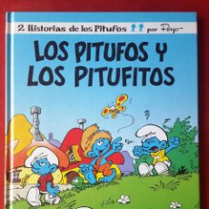 Tebeos: NUEVO LOS PITUFOS Y LOS PITUFITOS 13 EDICIONES B PRIMERA 1ª EDICIÓN PEYO 1990. Lote 53579652