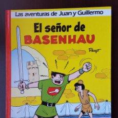 Tebeos: EL SEÑOR DE BASENHAU 1 EDITORIAL GRIJALBO JUAN Y GUILLERMO JOHAN Y PIRLUIT DE LOS PITUFOS DE OLE. Lote 53579872