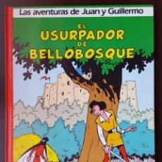 Tebeos: EL USURPADOR DE BELLOBOSQUE 2 EDITORIAL GRIJALBO JUAN Y GUILLERMO JOHAN Y PIRLUIT DE LOS PITUFOS OLE. Lote 53579897