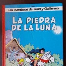 Tebeos: LA PIEDRA DE LUNA 4 EDITORIAL GRIJALBO JUAN Y GUILLERMO JOHAN Y PIRLUIT DE LOS PITUFOS OLE. Lote 53580206
