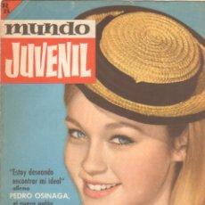 Tebeos: MUNDO JUVENIL Nº 33 ORIGINAL EDI. BRUGUERA 1963 - REVISTA DE LOS AMIGOS DE MARISOL. Lote 53623571