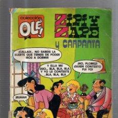 Tebeos: COLECCION OLE!. ZIPI Y ZAPE Y CARPANTA. Nº 210.. Lote 53629510
