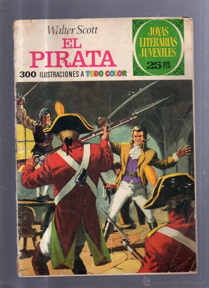 JOYAS LITERARIAS. Nº 6. EL PIRATA (Tebeos y Comics - Bruguera - Joyas Literarias)