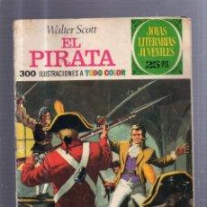 Tebeos: JOYAS LITERARIAS. Nº 6. EL PIRATA. Lote 53630326