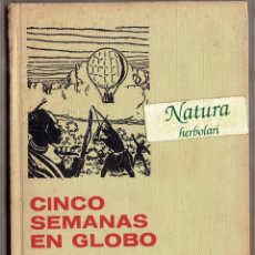 Tebeos: CINCO SEMANAS EN GLOBO. JULIO VERNE. COLECCIÓN HISTORIAS SELECCIÓN 7.. Lote 53637729