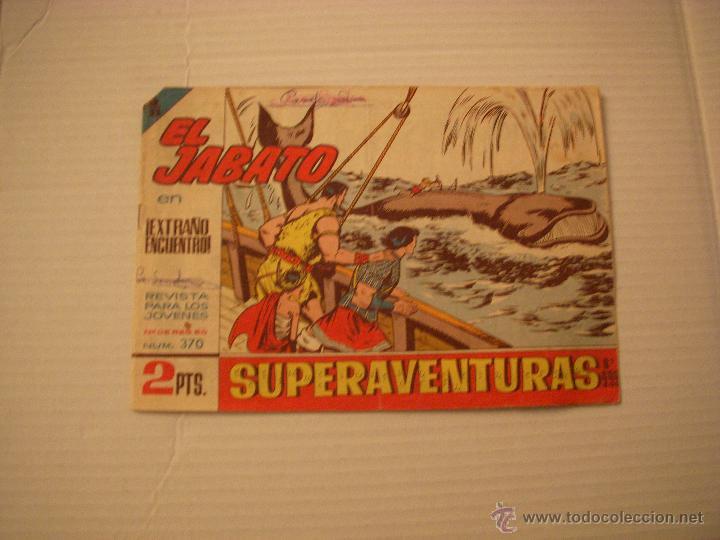 EL JABATO Nº 370, EDITORIAL BRUGUERA (Tebeos y Comics - Bruguera - Jabato)