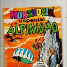 Tebeos: MORTADELO ESPECIAL 38 ALPINISMO - BRUGUERA 1978 - FN 6.0 EXCELENTE. Lote 53666272