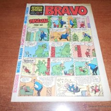 Tebeos: REVISTA JUVENIL BRAVO Nº 36 BRUGUERA. Lote 53701631