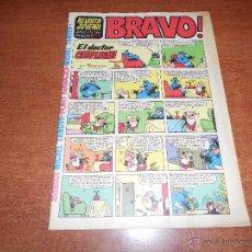 Tebeos: REVISTA JUVENIL BRAVO Nº 38 BRUGUERA. Lote 53701647