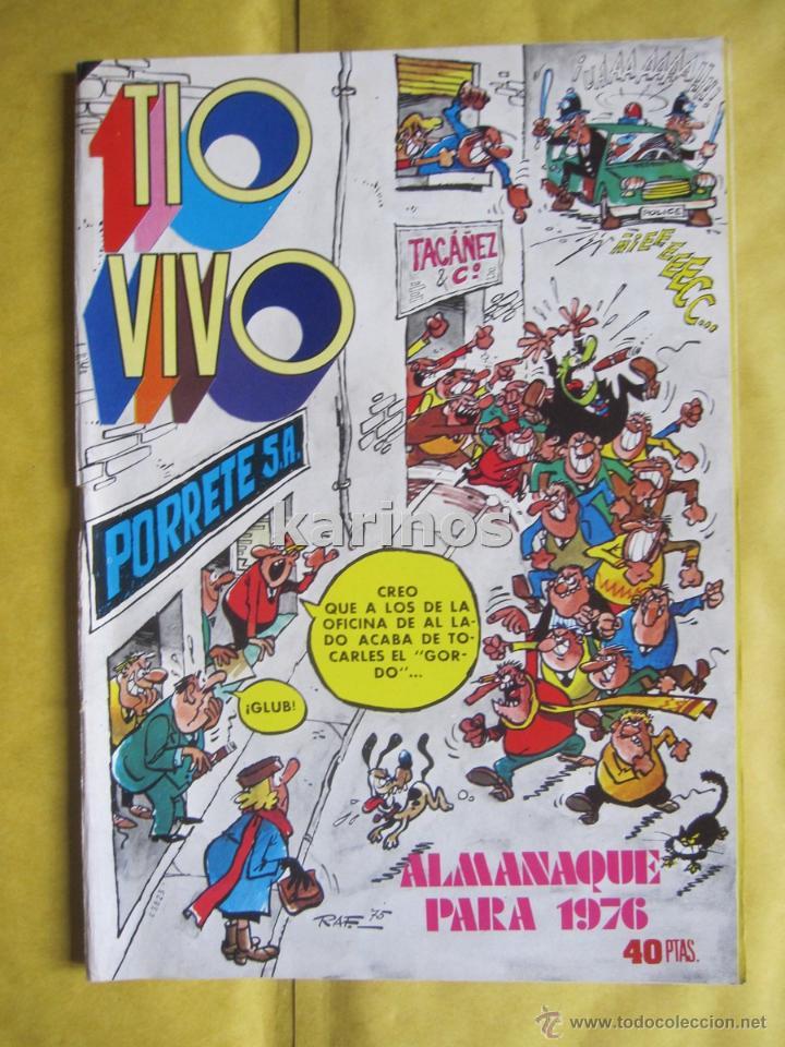 TIO VIVO ALMANAQUE PARA 1976 ED. BRUGUERA C1 (Tebeos y Comics - Bruguera - Tio Vivo)