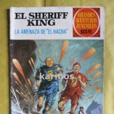 Tebeos: GRANDES AVENTURAS JUVENILES - EL SHERIFF KING - LA AMENAZA DE EL HACHA Nº 35 ED. BRUGUERA C1. Lote 53729563