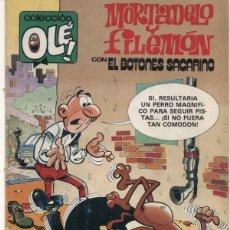 Tebeos: MORTADELO Y FILEMON - COLECCIÓN OLE Nº 208 - SIEMPRE EN VILO - 1ª EDICION BRUGUERA 1980. Lote 53751802