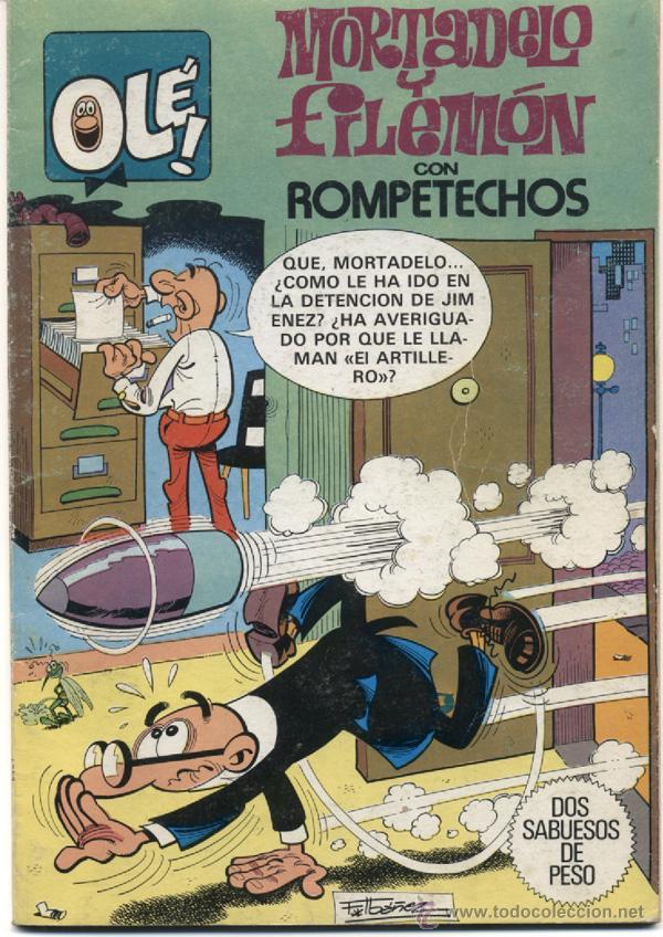 MORTADELO Y FILEMON - COLECCIÓN OLE Nº 250 - 1ª EDICION BRUGUERA 1982 (Tebeos y Comics - Bruguera - Ole)