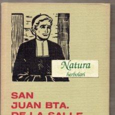Tebeos: SAN JUAN BTA. DE LA SALLE. BRUGUERA. SERIE HISTORIA Y BIOGRAFIA 32.. Lote 53790549