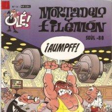 Tebeos: MORTADELO Y FILEMÓN # 14 SEÚL -88 - 1996. Lote 53841631
