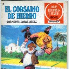 Livros de Banda Desenhada: EL CORSARIO DE HIERRO - Nº 49 - TORMENTA SOBRE ARGEL - JOYAS LITERARIAS JUVENILES - BRUGUERA.. Lote 53882814