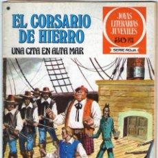 Livros de Banda Desenhada: EL CORSARIO DE HIERRO - Nº 46 - UNA CITA EN ALTA MAR - JOYAS LITERARIAS JUVENILES - BRUGUERA.. Lote 53912188