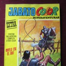 Tebeos: JABATO COLOR EXTRA. PRIMERA ÉPOCA Nº 48 ¡DUELO EN EL RIO! TEBENI BRUGUERA 1973 BASTANTE BUENO. Lote 53989050